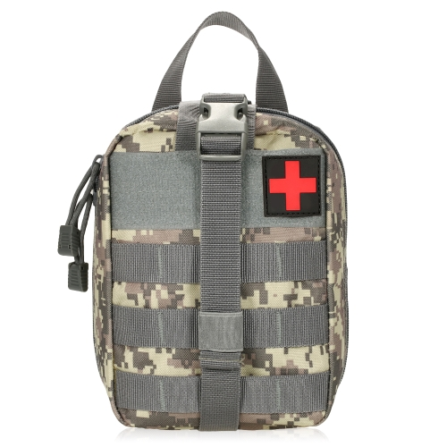 Lixada Outdoor MOLLE Medical Pouch Kit pronto soccorso Kit di pronto soccorso di emergenza