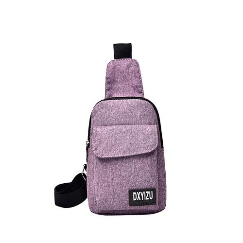 Portable Travel Bag Canvas Chest Bag