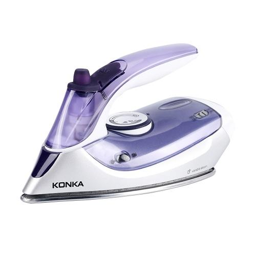 KONKA Steam Iron 1100W Portable Steam-Dry Iron for Clothes KJ-ES02WE