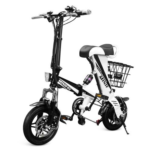 MINIOFX A36 Folding Electric Bike 12 Inch Power Assist