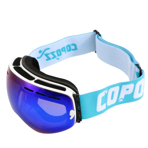 Occhiali di protezione UV protezione uomini donne Sport esterno antivento vetri Professional Sci Snowboard anti-nebbia