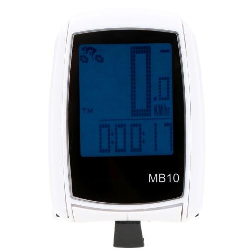 Multifunzionale LCD Wireless Computer tachimetro contachilometri bici