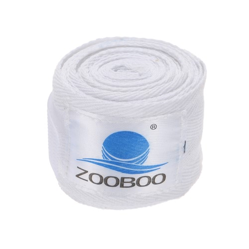 ZOOBOO 100% Cotton Boxing Muay Thai Free Combat MMA Hand Wraps Boxing Bandages