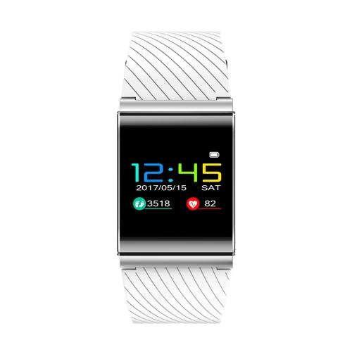Цветной экран Спорт Heart Rate Monitor Smart Watch Браслет Браслет Фитнес Tracker