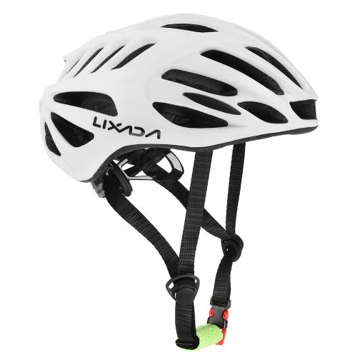 Image of Lixada 32 Vents Ultralight Integrally-molded EPS Sports Cycling Helmet with Lining Pad Mountain Bike Bicycle Unisex Adjustable Helmet