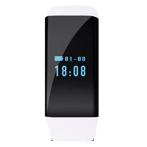 Smartband monitor de ritmo cardíaco pulsera podómetro monitor de sueño pulsera inteligente Health Fitness Tracker para Android y iOS