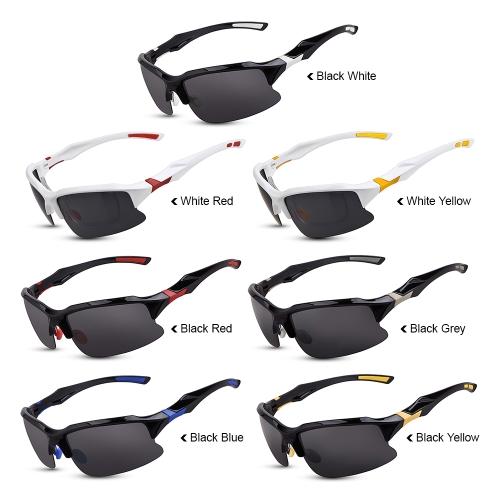 Bike Cycling Glasses Sports Sunglasses UV Polarized Lens for Fishing Golfing Driving Running Eyewear