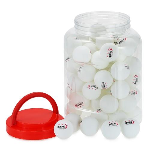 60Pcs 3 Star Ping Pong Balls Practice Training Table Tennis Balls