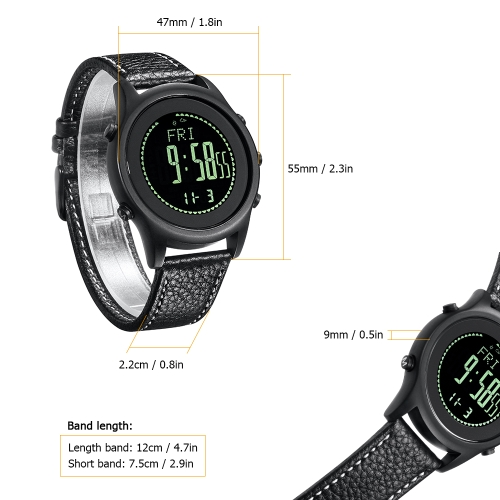 SPOVAN Outdoor Sports Watches Business Watch Waterproof Sports Multifunctional Outdoor Watch Altimeter Thermometer Weather Forecas