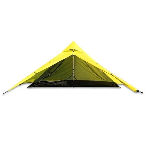 Zweischichtiges wasserdichtes Backpacking-Zelt