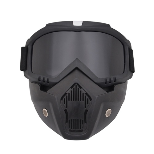 Máscara modular desmontable gafas