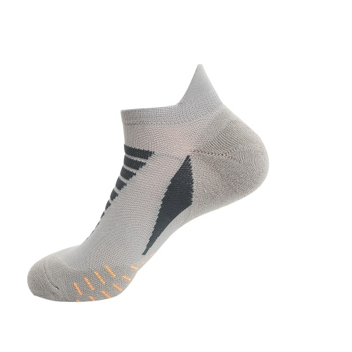 Men Women Anti Slip Athletic Socks Sports Grip Socks for Basketball Soccer Volleyball Running Trekking Hiking Absorption Moisture Wicking Compression Socks Image