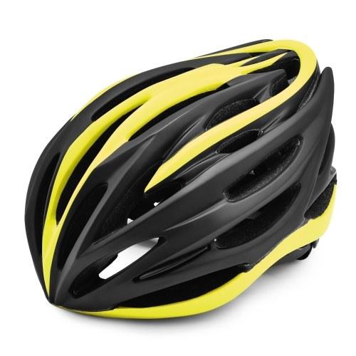 Casco da bici leggero con morbido rivestimento interno rimovibile Regolabile Uomo Donna Casco da pista Casco per bicicletta da ciclismo nello stampo per attrezzatura da ciclismo da montagna su strada con certificazione CE