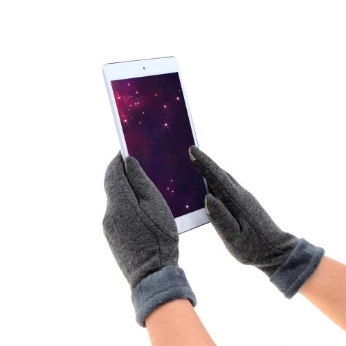 Guanti Touchscreen Touchscreen inverno guanti sport all'aria aperta senza dimensione Touchscreen caldi guanti per le donne
