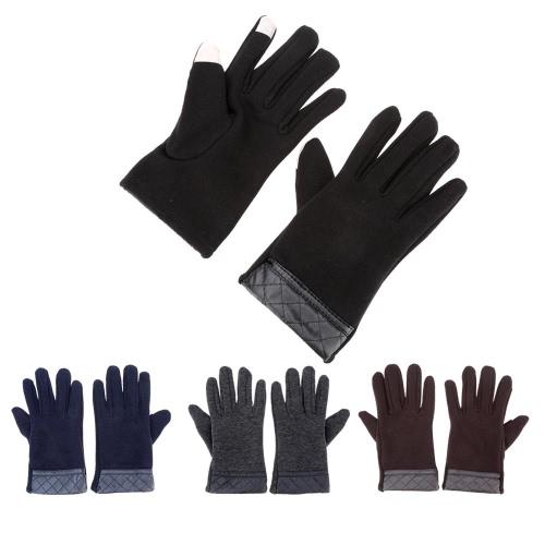 Зимние Перчатки для Сенсорного Экрана Спортивный Открытый Перчатки для Сенсорного Экрана Свободный Размер Теплые Перчатки для Сенсорного Экрана для Мужчин фото