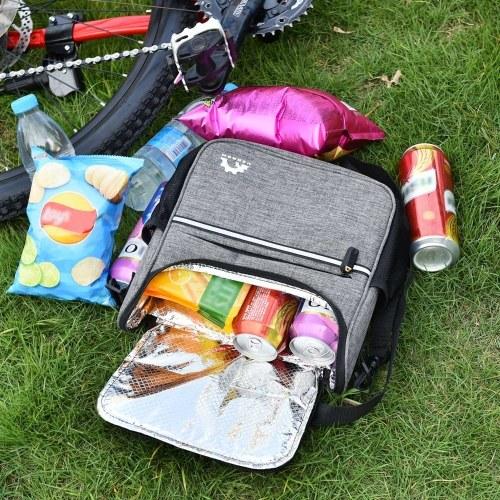Waterproof Bike Handlebar Insulated Cooler Bag Image