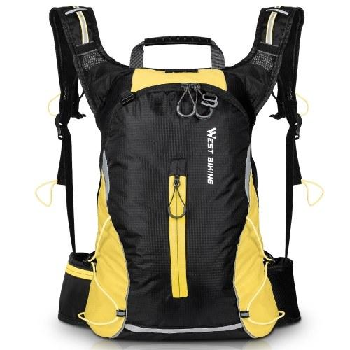 WEST BIKING 16L Cycling Knapsack Mountain Bike Bag Outdoor Backpack Leisure Light Travel Bag Riding Equipment Image