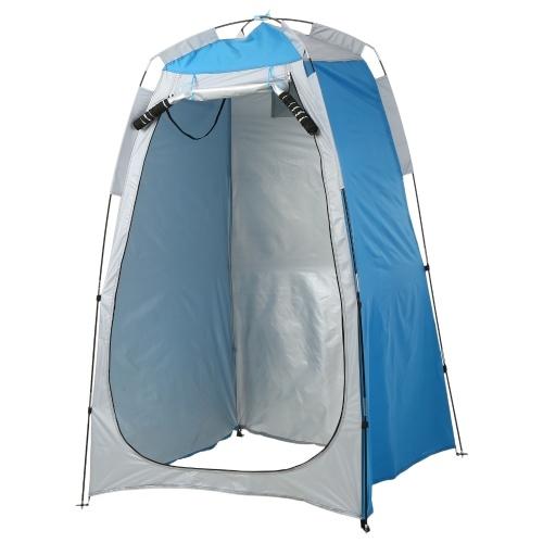 Privacy Shelter Zelt Tragbares Outdoor Camping Strandduschtoilette Wechselzelt Sun Rain Shelter mit Fenster