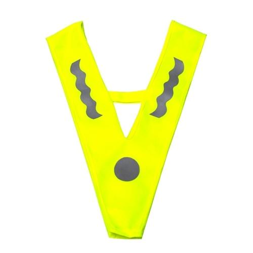 Warnweste mit hoher Sichtbarkeit für Kinder Outdoor Sport Running Night Sicherheitsausrüstung