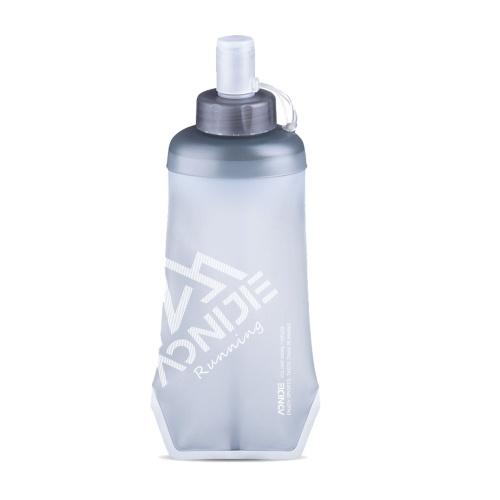 Bolsa para água esportiva 500ml TPU Bolsa para beber Bolsa flexível para água portátil e dobrável