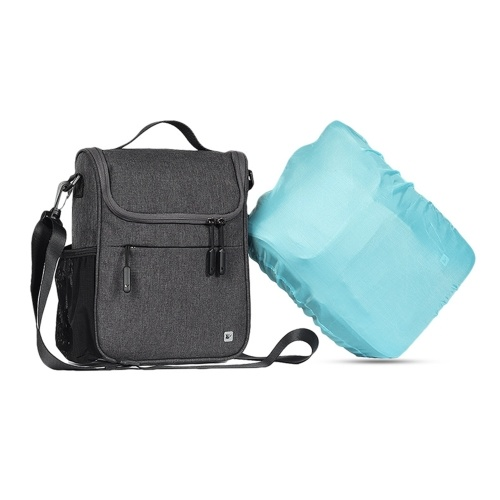 5L Capacity Handlebar Bag Aluminum Coat Heat Preservation Bike Handlebar Bag Multifunctional Bag for Cycling Daily Use