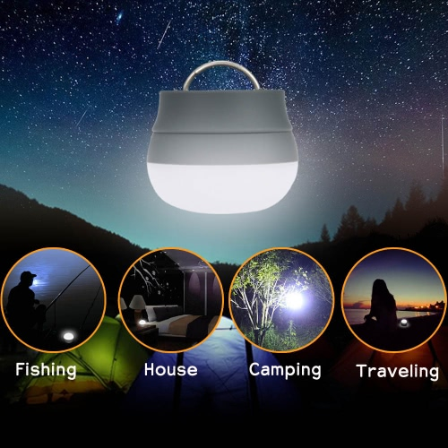 TOMSHOO LED lampada lanterna Outdoor trekking tenda portatile luce notte lampada con maniglia
