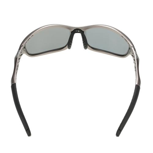 Lixada polarizado 100% Protección UV Eliminación de gafas de sol deportivas
