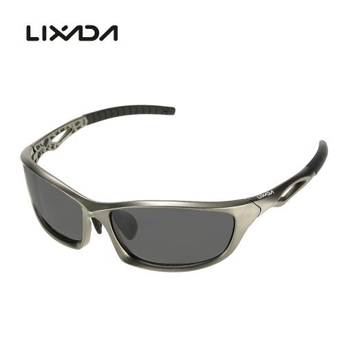 Lixada Polarized 100% UV Glare Protection Eliminating Sports Sunglasses