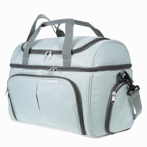 TOMSHOO Thermal Insulated Cooler Lunch Bag Food Box Handbag Outdoor Picnic Storage Bag 20L
