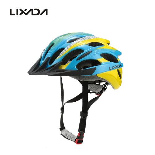 Lixada 25 orificios de ventilación Super ligero protector bicicleta montaña bicicleta carretera cascos para ciclismo de montaña carreras Skate patines ajustable