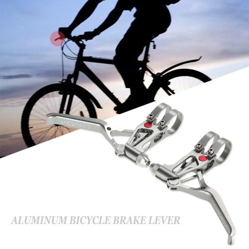 LIXADA自転車CNCアルミブレーキレバーMTBマウンテンバイク3指メカニカルブレーキレバー1ペア