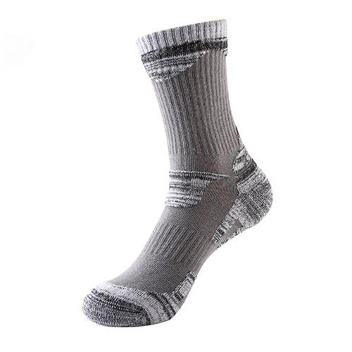 2 пары Воздухопроницаемая Влагоотведение Износостойкий Езда на велосипеде Альпинизм Катание на коньках носки сжатия Хлопок стелька носки хлопчатобумажные носки фото
