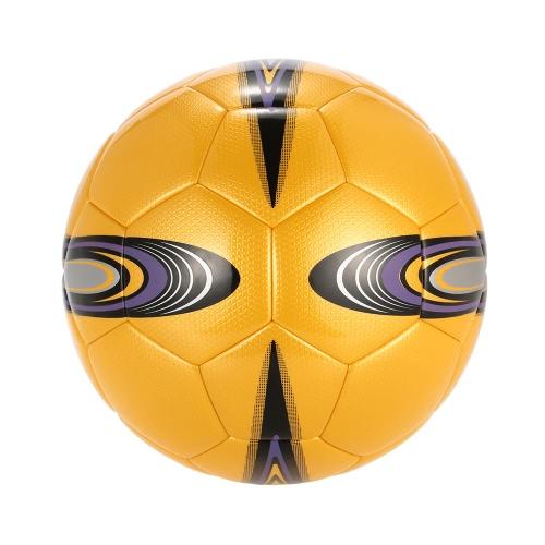 Размер 5 Мяч футбола футбола TPU раздувной Мягкий коснитесь касания погоды прочный футбол для игры Состязание спички