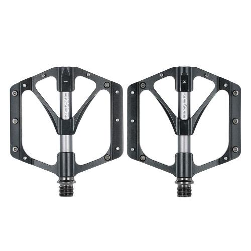 """Lixada Pedales de bicicleta de 1 par MTB bicicleta de montaña pedales CNC aleación de aluminio sellado rodamiento plataforma pedales 9/16 """"accesorios de bicicletas"""