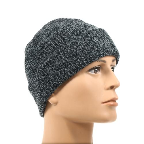 Бонн Beanies Трикотажные зимние шапки Вязание Зимние шапки для женщин Мужчины Открытый лыжный спорт Beanie