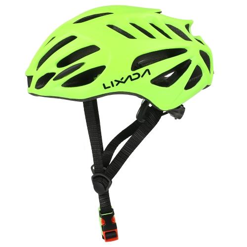 Lixada 32 Vents Ultralight Integrally-molded EPS Sports Cycling Helmet with Lining Pad Mountain Bike Bicycle Unisex Adjustable Helmet