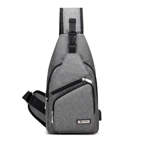 Borsa di ricarica USB Borsa a tracolla Pack Borsa a tracolla Borsa a tracolla Cross Daypack Borsa da viaggio per bicicletta