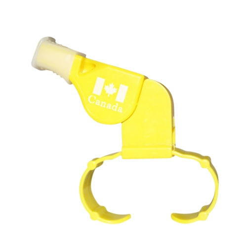 Sports Activities Referee Whistle Practical Mouthpiece Seedless & Double Cavity Lifesaving Emergency Whistle Cheerleaders Cheer Finger Whistle