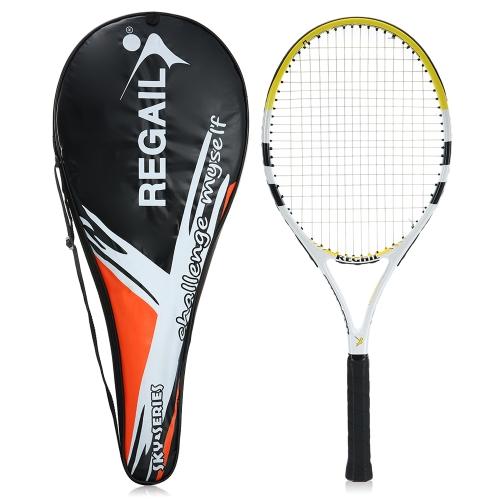 Carbon Tennis Racket Indoor Outdoor Training Tennis Racquet with Cover Bag