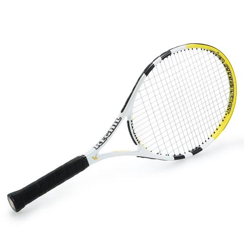 Углеродная теннисная ракетка Крытый открытый тренировочный теннисный ракетка с сумкой для багажа фото
