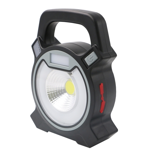 COB Iluminación LED recargable a prueba de agua con cable USB