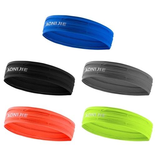 Immagine di Sport Sweatbands Running Ciclismo Yoga Fitness Fasce Umidità Assorbente Sweat Band Head Wrap Sport Wristband