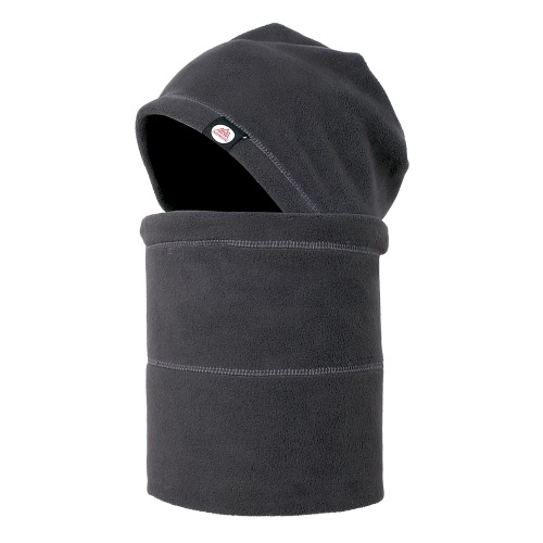 Winter Warm Hat Neck Warmer Set Anti-static Fleece Neck Gaiter Hat Kit Sports Headgear Mask Hat