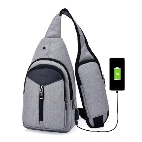 Portable Herren Außerhalb Freizeit Brusttasche