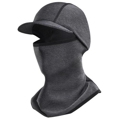 Wintersport Warme Fleece Mütze Warme Gesichtsbedeckung Halsmanschette Outdoor Cap für den Winter