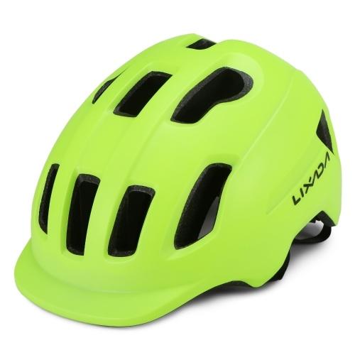 Lixada Mountain Bike Helmet with Sun Visor Ultralight Adjustable MTB Cycling Bicycle Helmet Men Women Sports Outdoor Safety Helmet Image