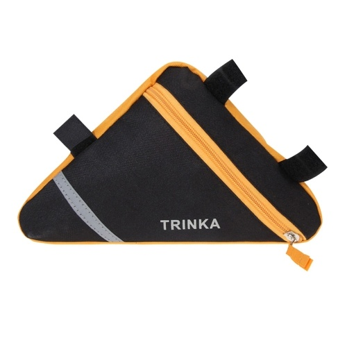 Bicycle Frame Bag Front Tube Frame Triangle Pouch Phone Bag Image