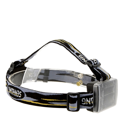 Double Tube Double Lights LED Headlamp Outdoor Headlight Hiking Camping Night Fishing Riding Cycling