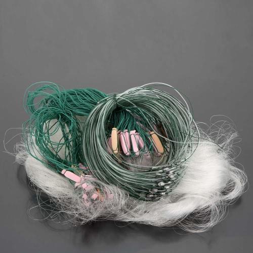 Lixada 25m 3 Ebenen Monofile Angel Fischnetz Kiemennetze mit Schwimmer