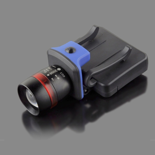 Lixada XPE LED Light 120 Lumens 3 Modes Water Resistant Zoomable Clip-on Cap Hat Light Headlight Headlamp